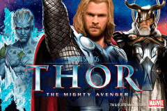 logo thor the mighty avenger playtech slot online