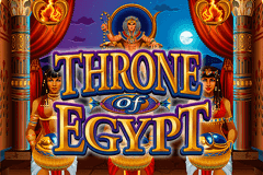 logo throne of egypt microgaming slot online