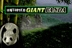 logo untamed giant panda microgaming slot online