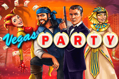 logo vegas party netent slot online