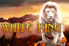 logo white king playtech slot online