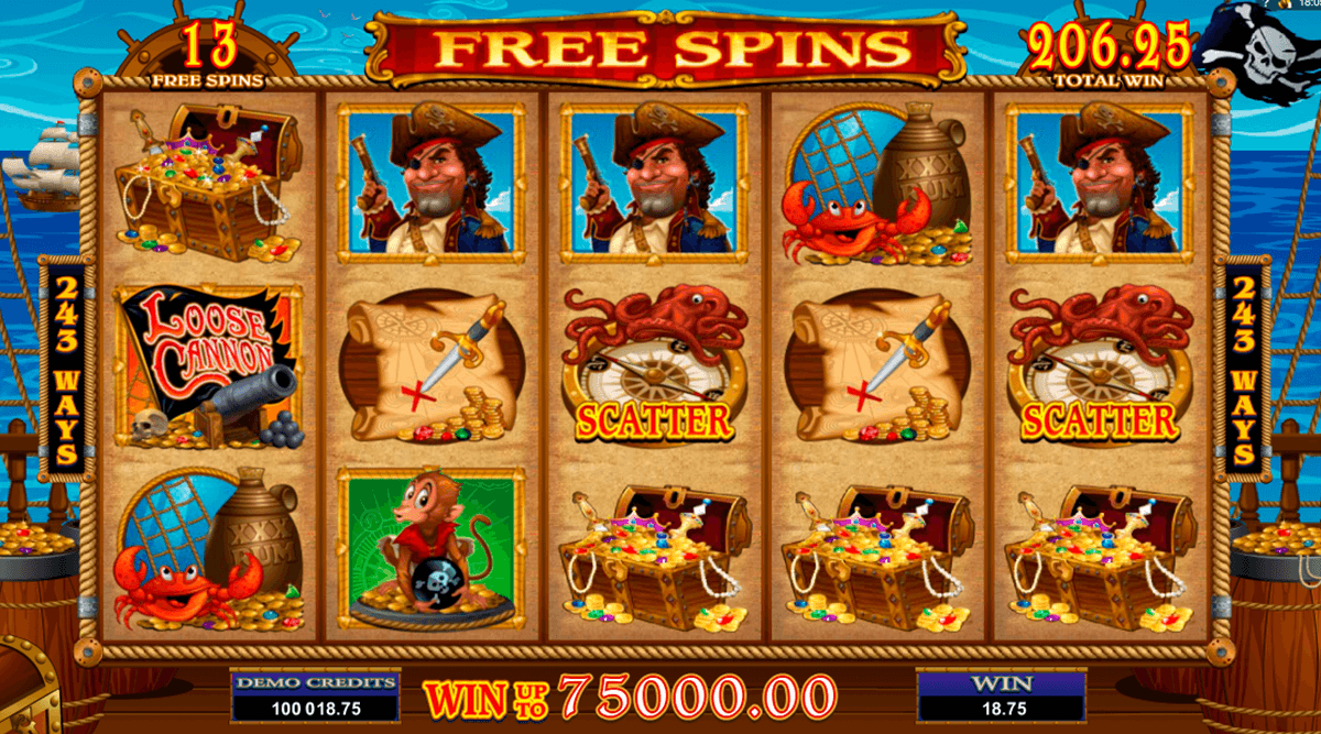 loose cannon microgaming slot machine