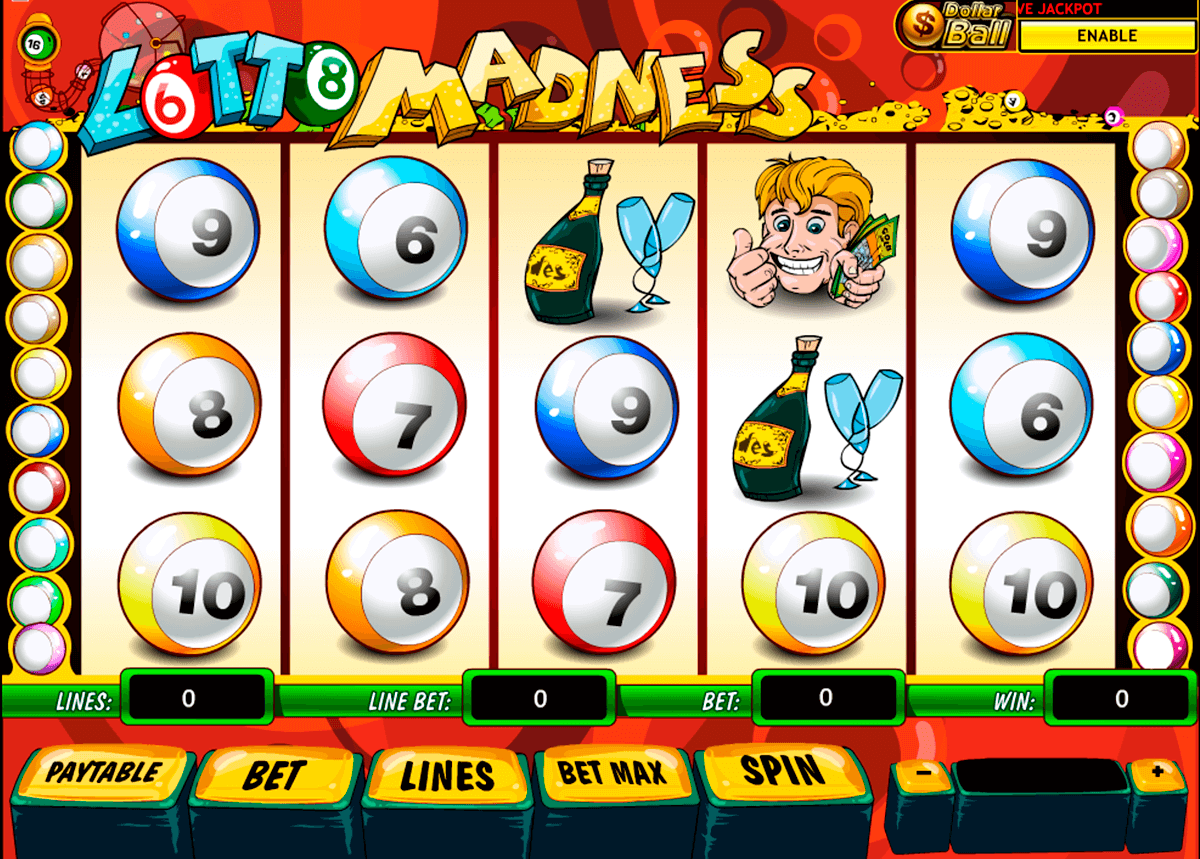 lotto madness playtech slot machine