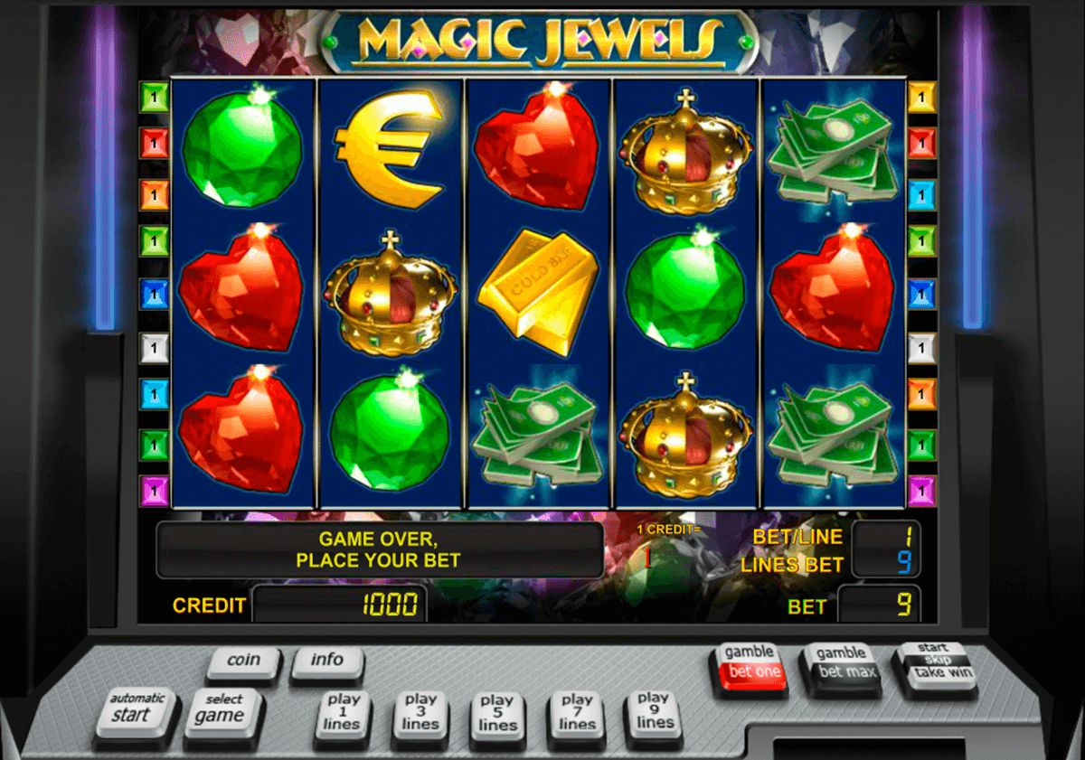 magic jewels novomatic slot machine