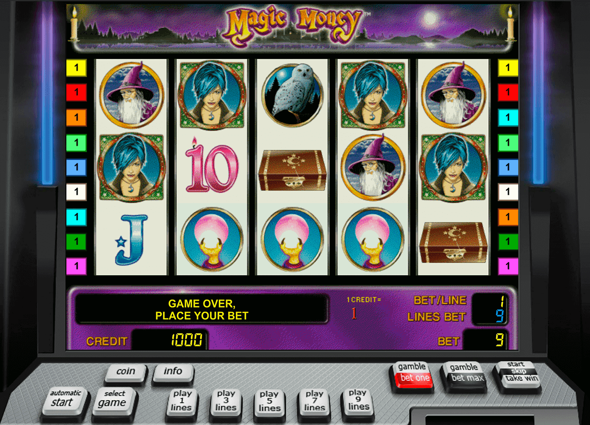 magic money novomatic slot machine