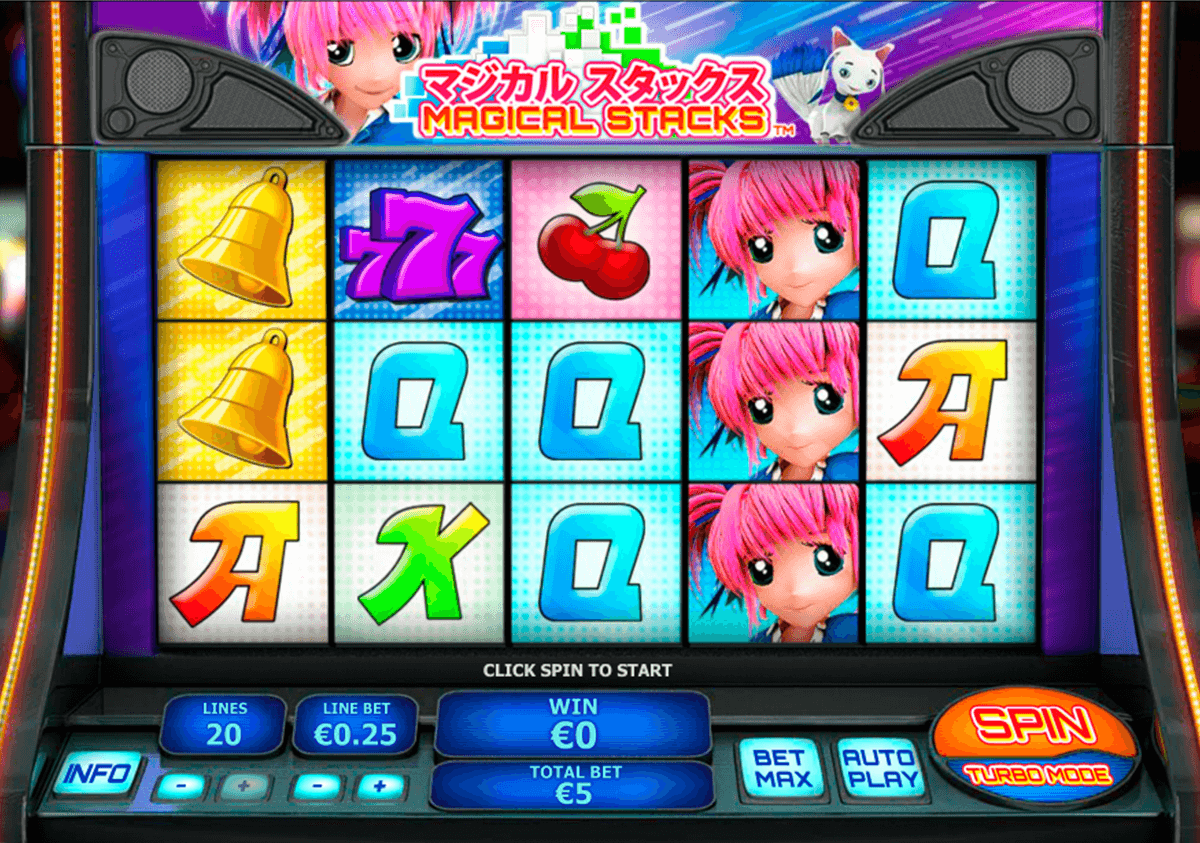 magical stacks playtech slot machine