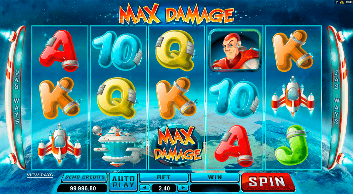 max damage microgaming slot machine
