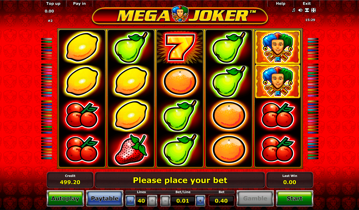 Mega Joker Slot Machine