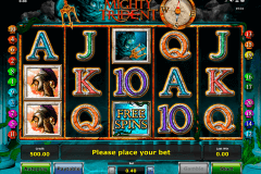 mighty trident novomatic slot machine
