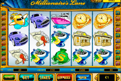 millionaires lane playtech slot machine