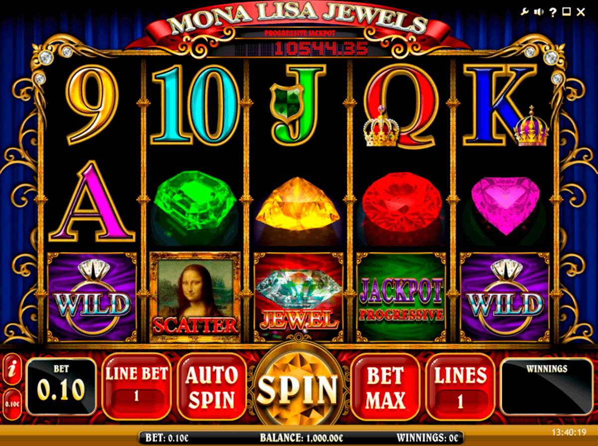 mona lisa jewels isoftbet slot machine