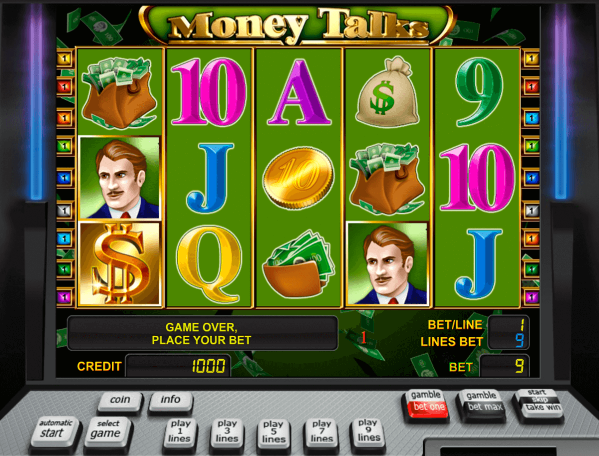 money talks novomatic slot machine