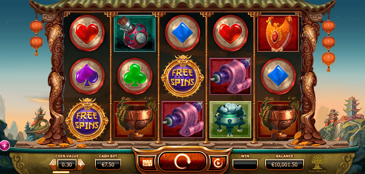 monkey king yggdrasil slot machine