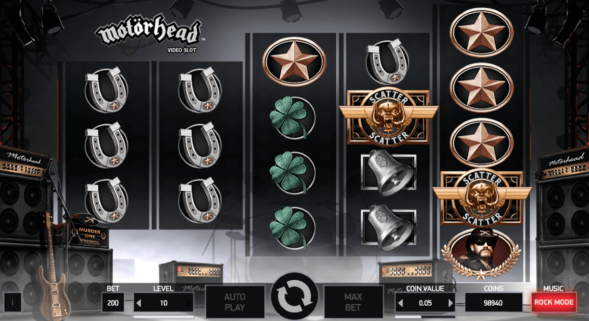 motorhead netent slot machine