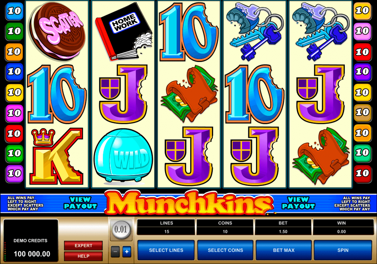 munchkins microgaming slot machine