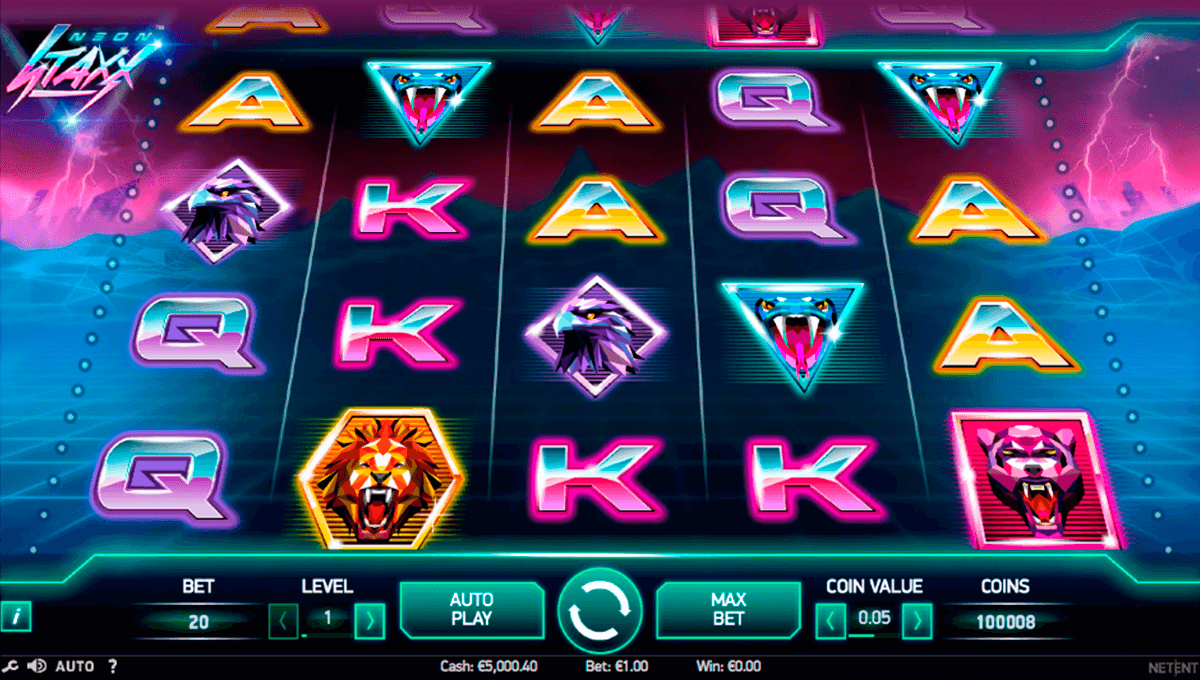 neon staxx netent slot machine