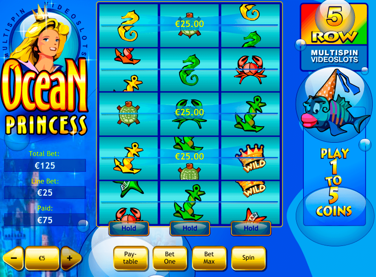 ocean princess playtech slot machine
