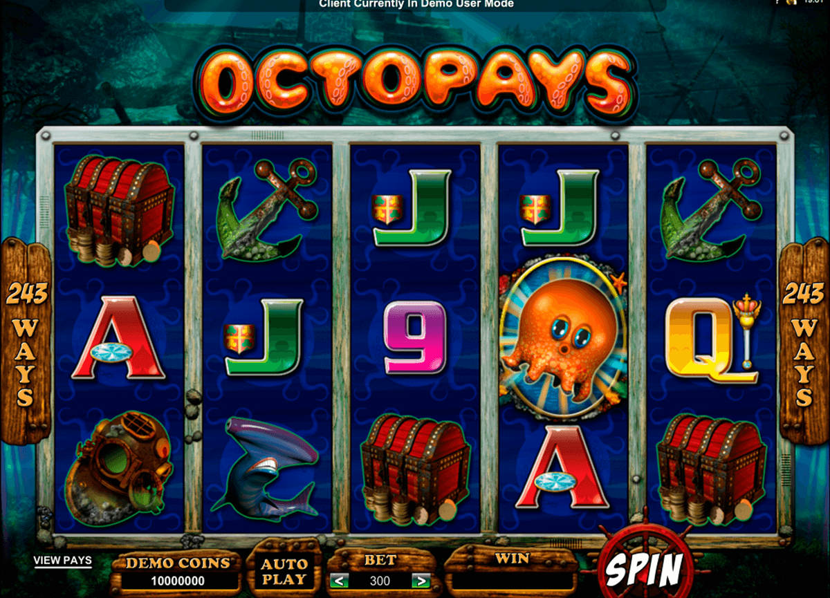octopays microgaming slot machine