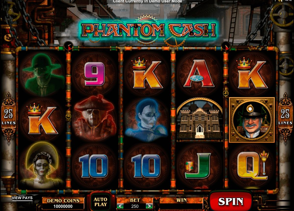 phantom cash microgaming slot machine