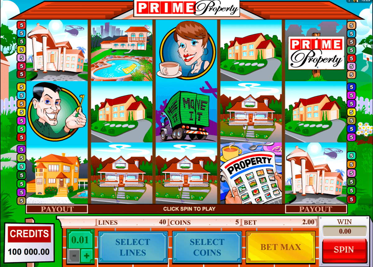 prime property microgaming slot machine