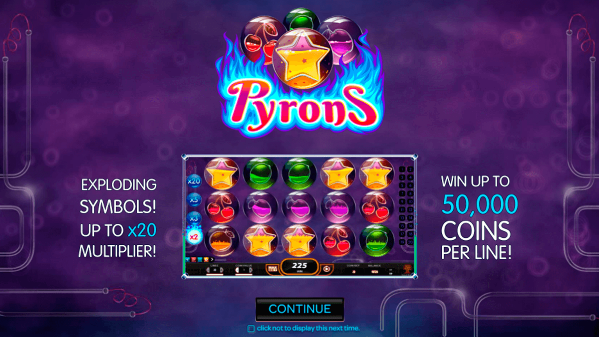 pyrons yggdrasil slot machine