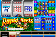 rapid reels microgaming slot machine