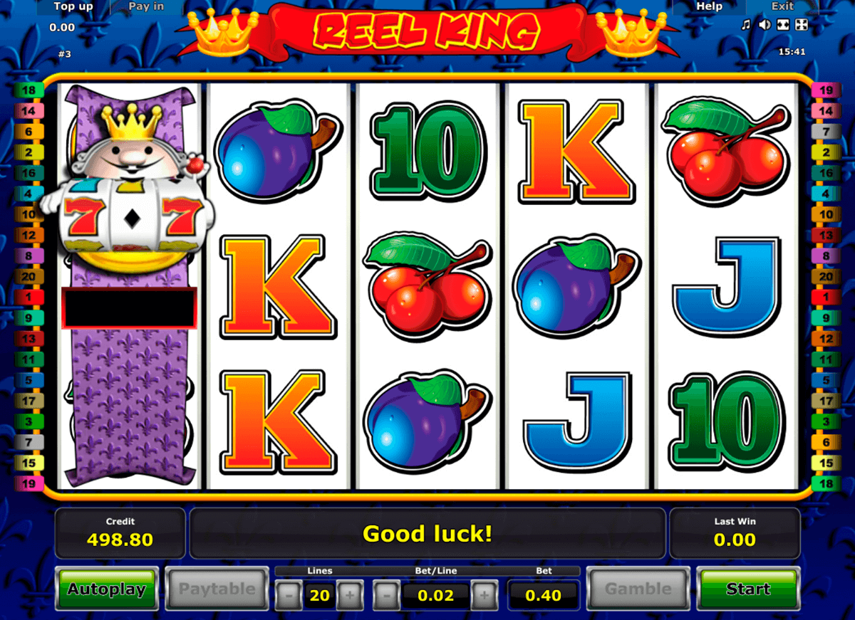 reel king novomatic slot machine