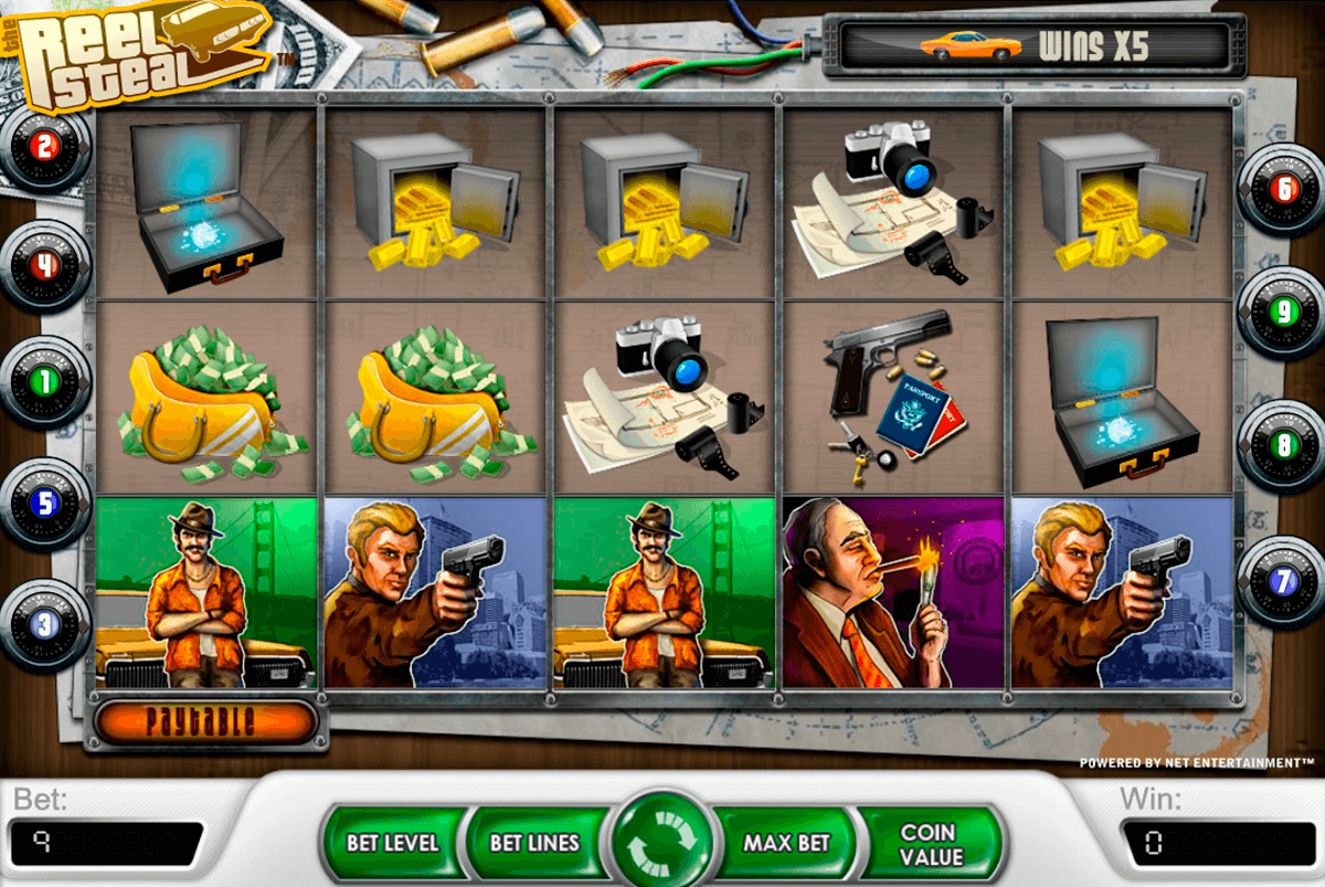 reel steal netent slot machine