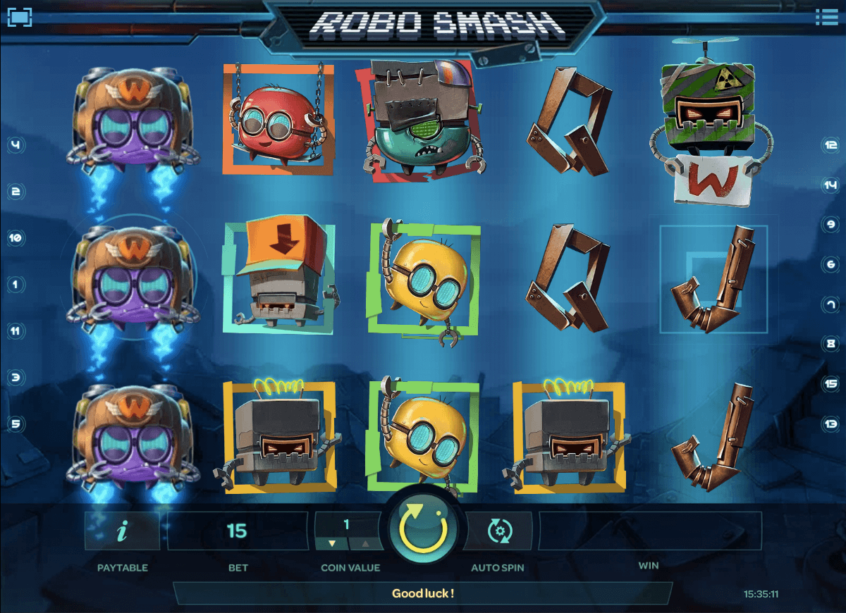 robo smash isoftbet slot machine