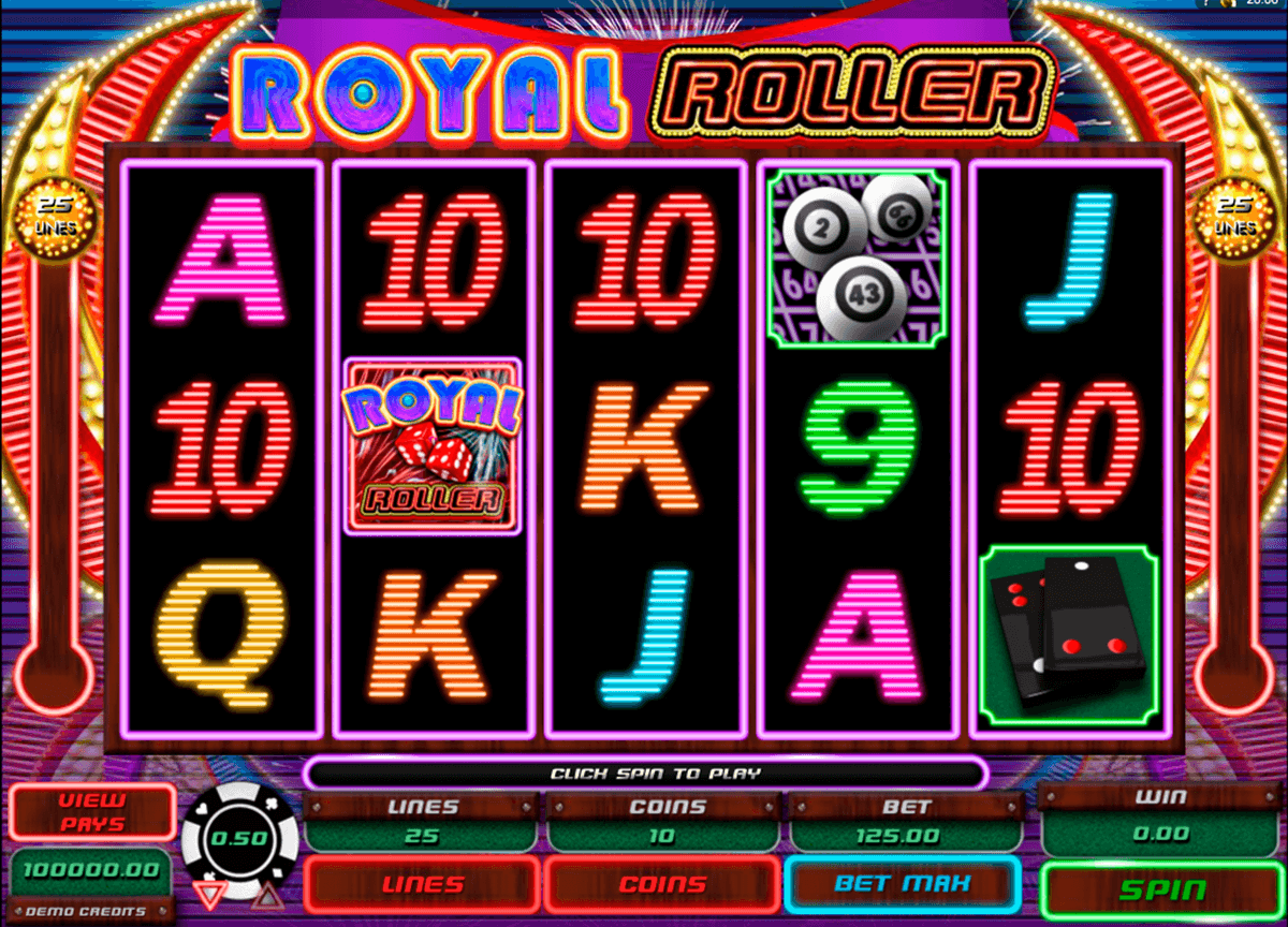 royal roller microgaming slot machine