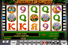 secret forest novomatic slot machine