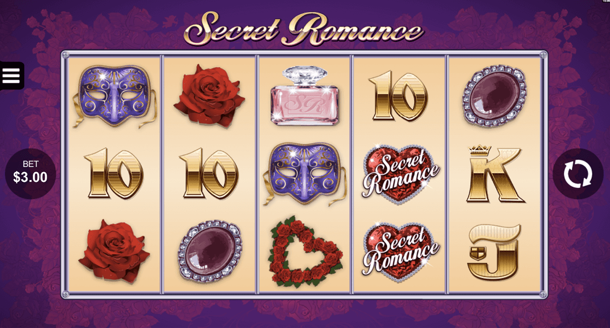 secret romance microgaming slot machine
