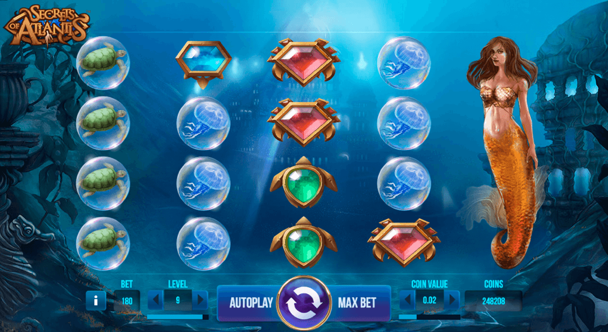 secrets of atlantis netent slot machine