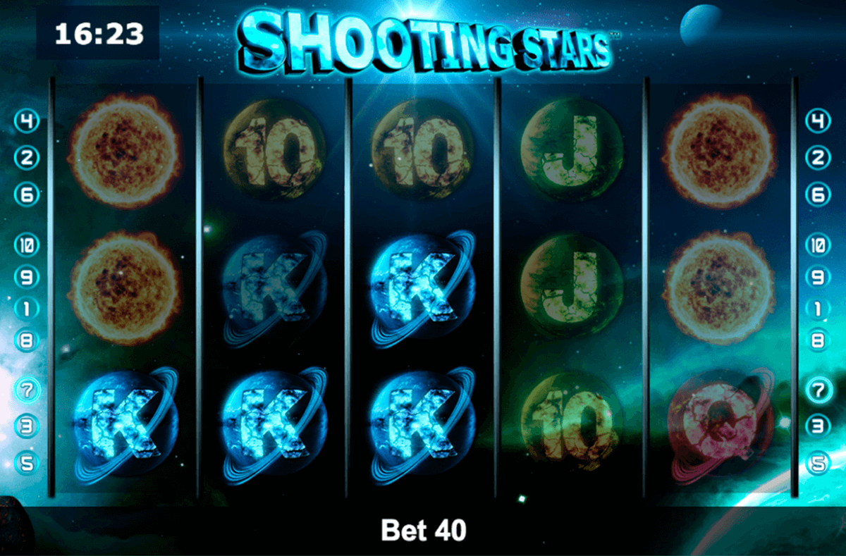shooting stars novomatic slot machine