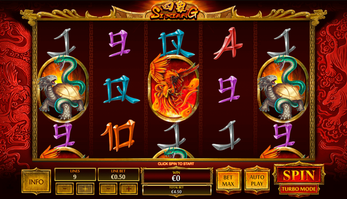 si xiang playtech slot machine