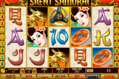 silent samurai playtech slot machine