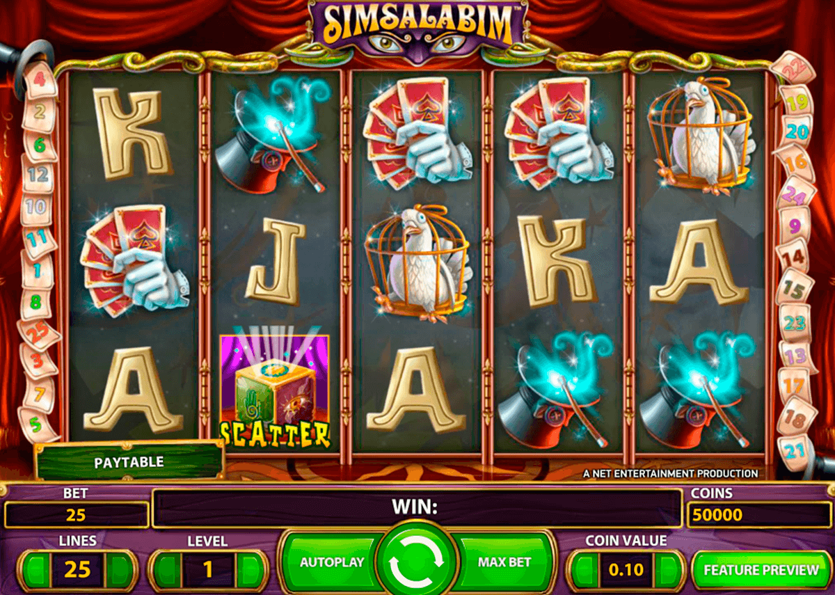 simsalabim netent slot machine