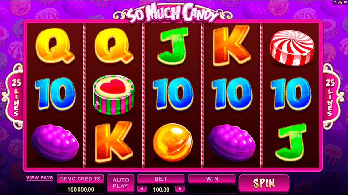 so much candy microgaming slot machine