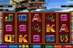 sovereign of the seven seas microgaming slot machine