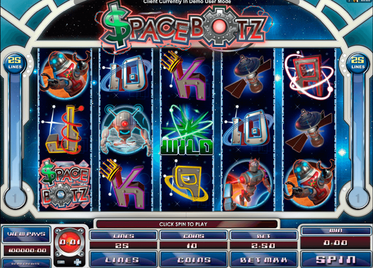 space botz microgaming slot machine