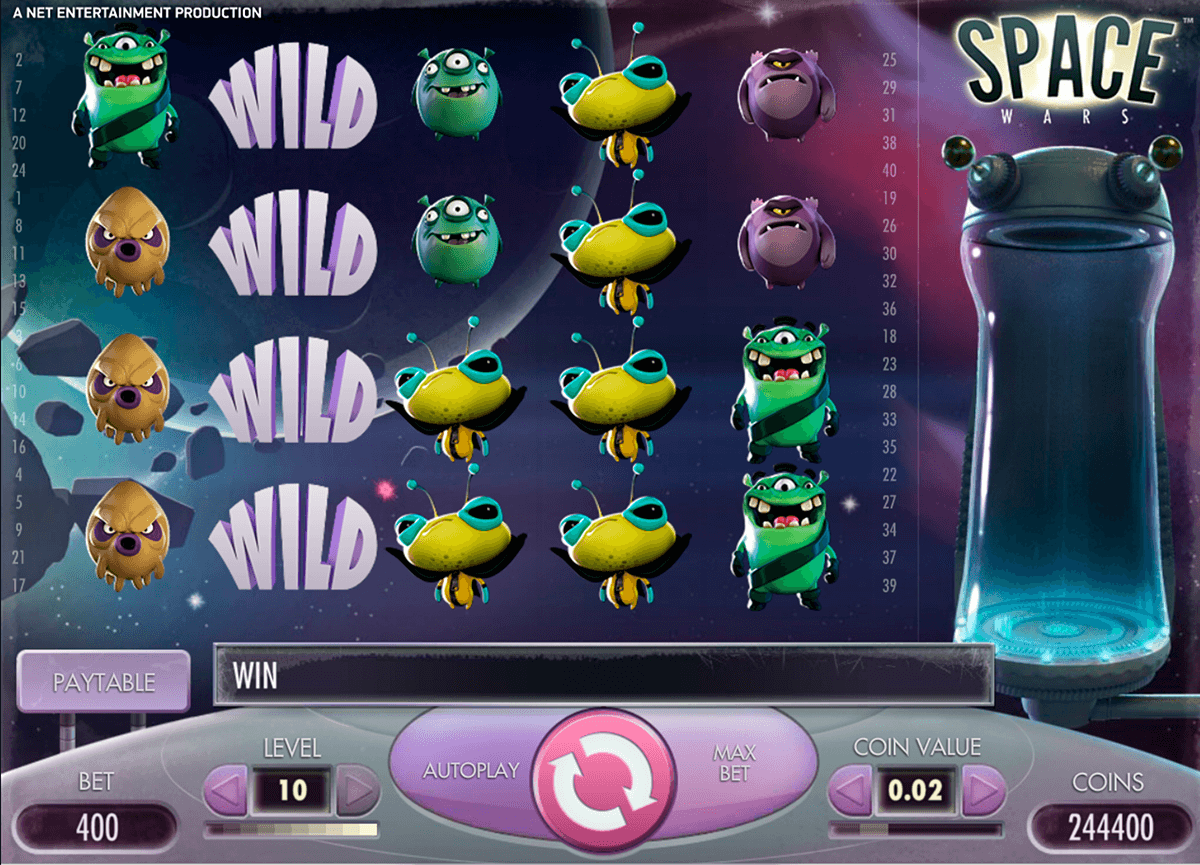 space wars netent slot machine