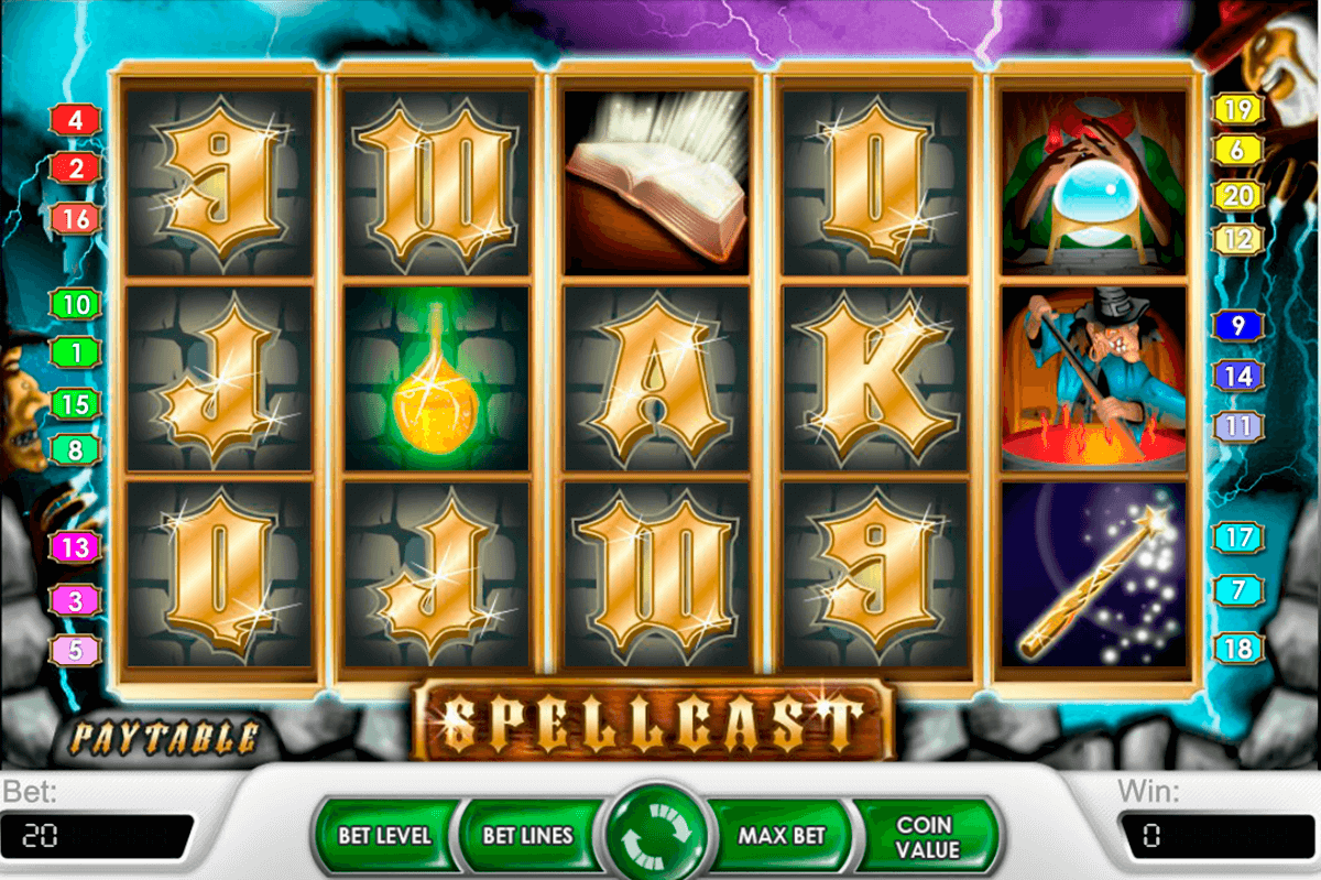 spellcast netent slot machine
