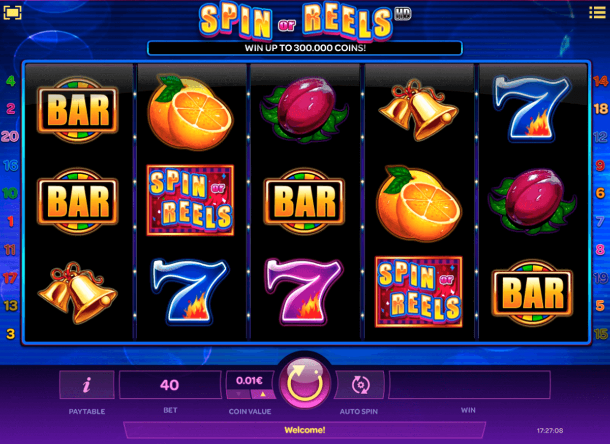 spin or reels isoftbet slot machine