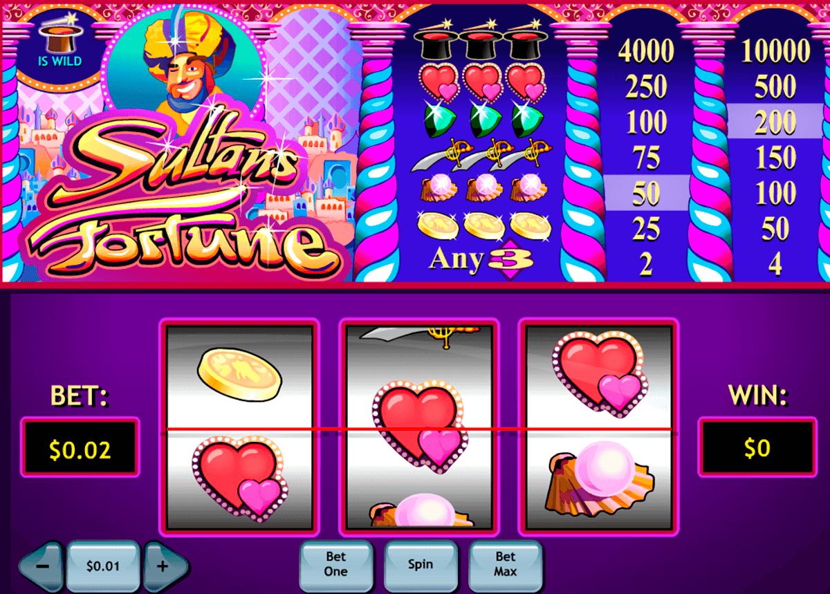 sultans fortune playtech slot machine