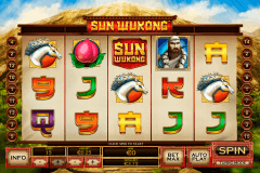 sun wukong playtech slot machine