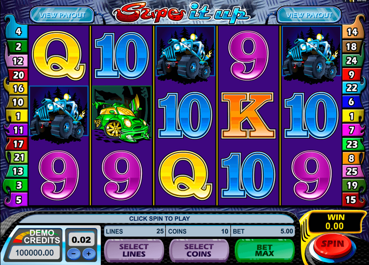 supe it up microgaming slot machine