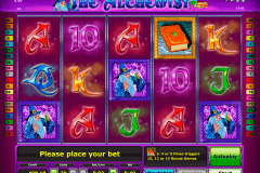 the alchemist novomatic slot machine