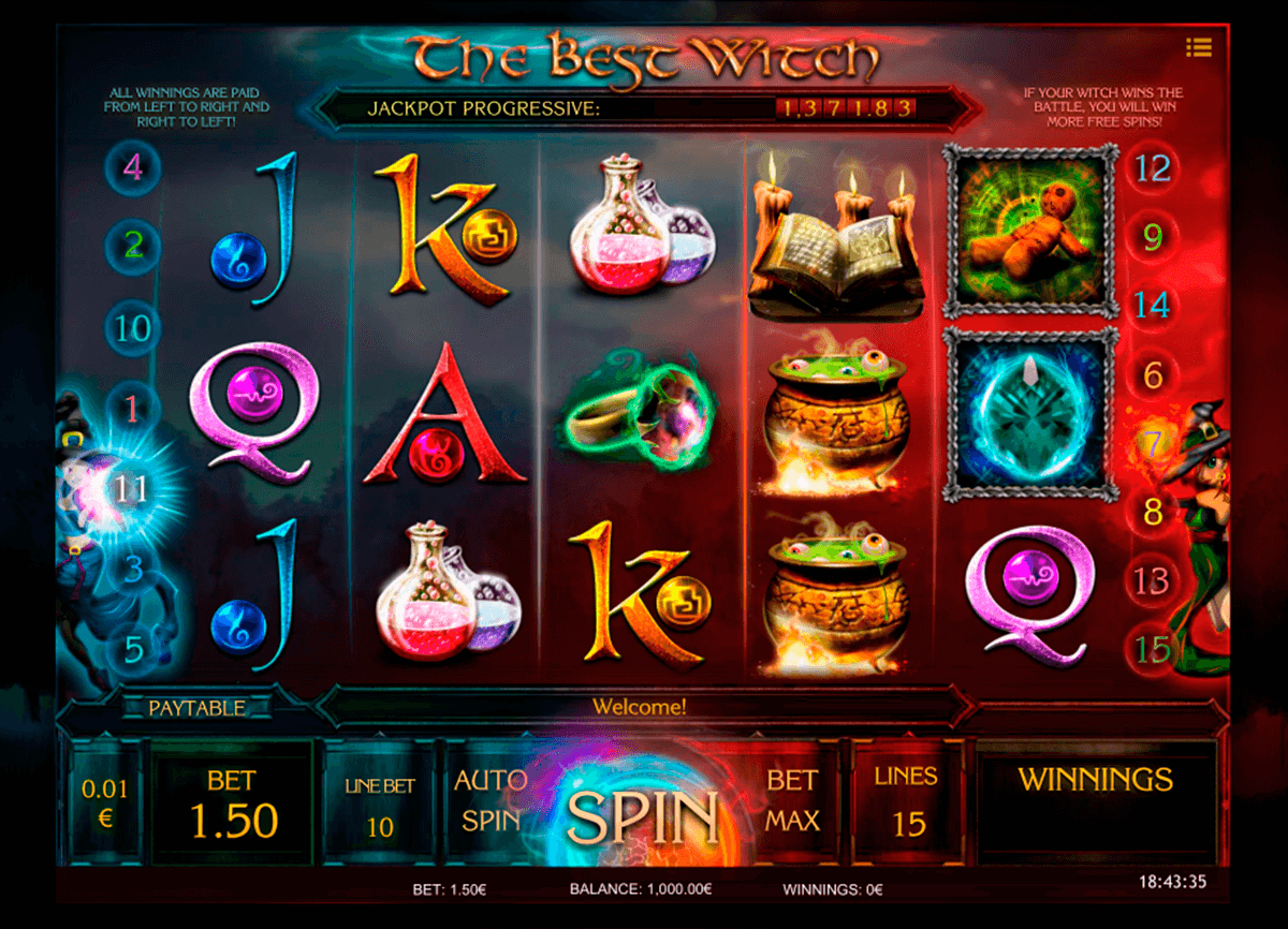 the best witch isoftbet slot machine