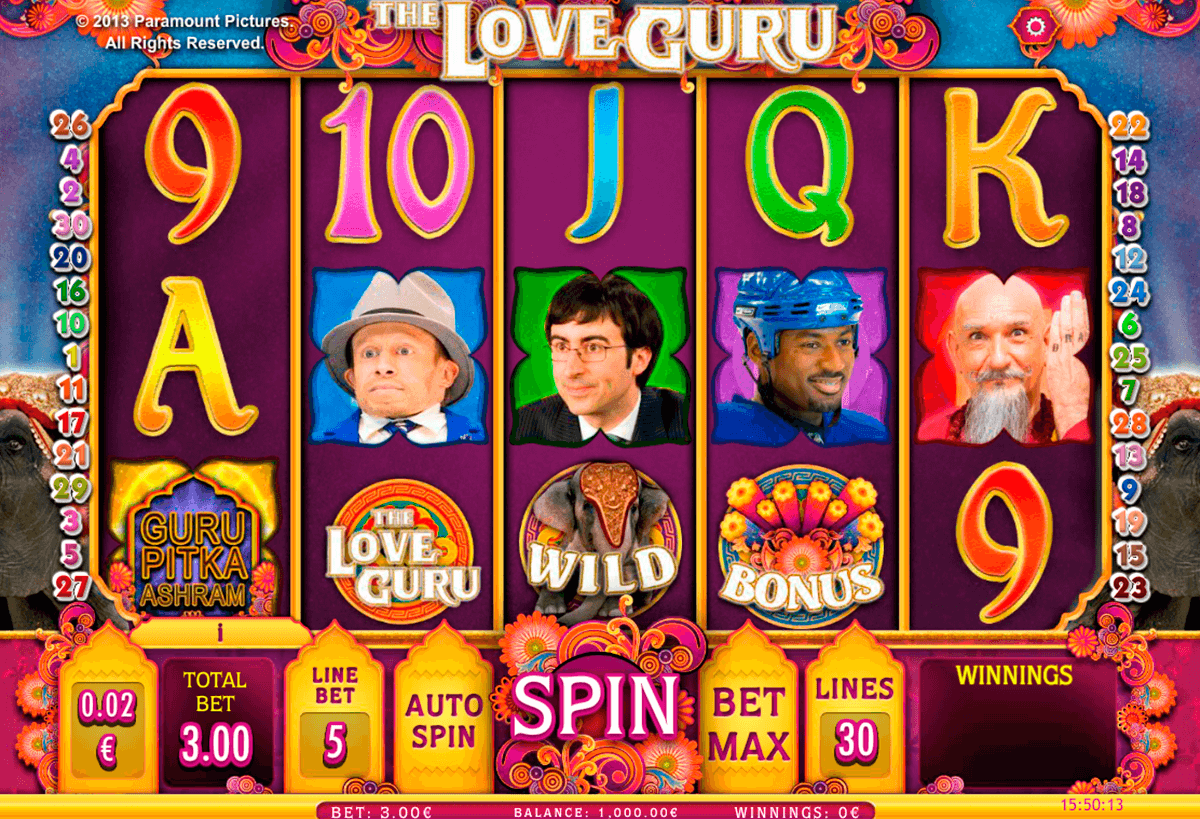 the love guru isoftbet slot machine