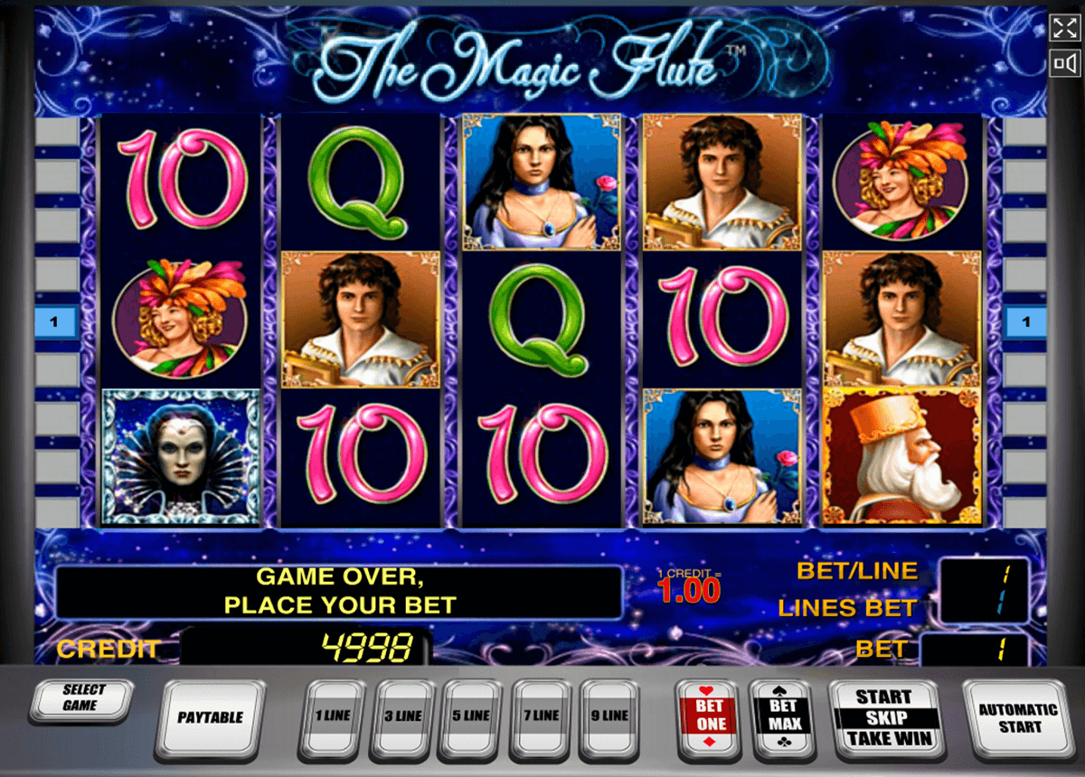 the magic flute novomatic slot machine